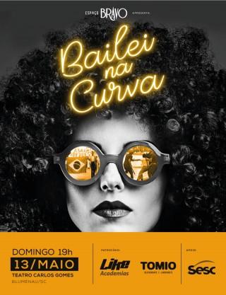 Apoiando a cultura: Teatro Carlos Gomes recebe o espetaculo Balei na Curva