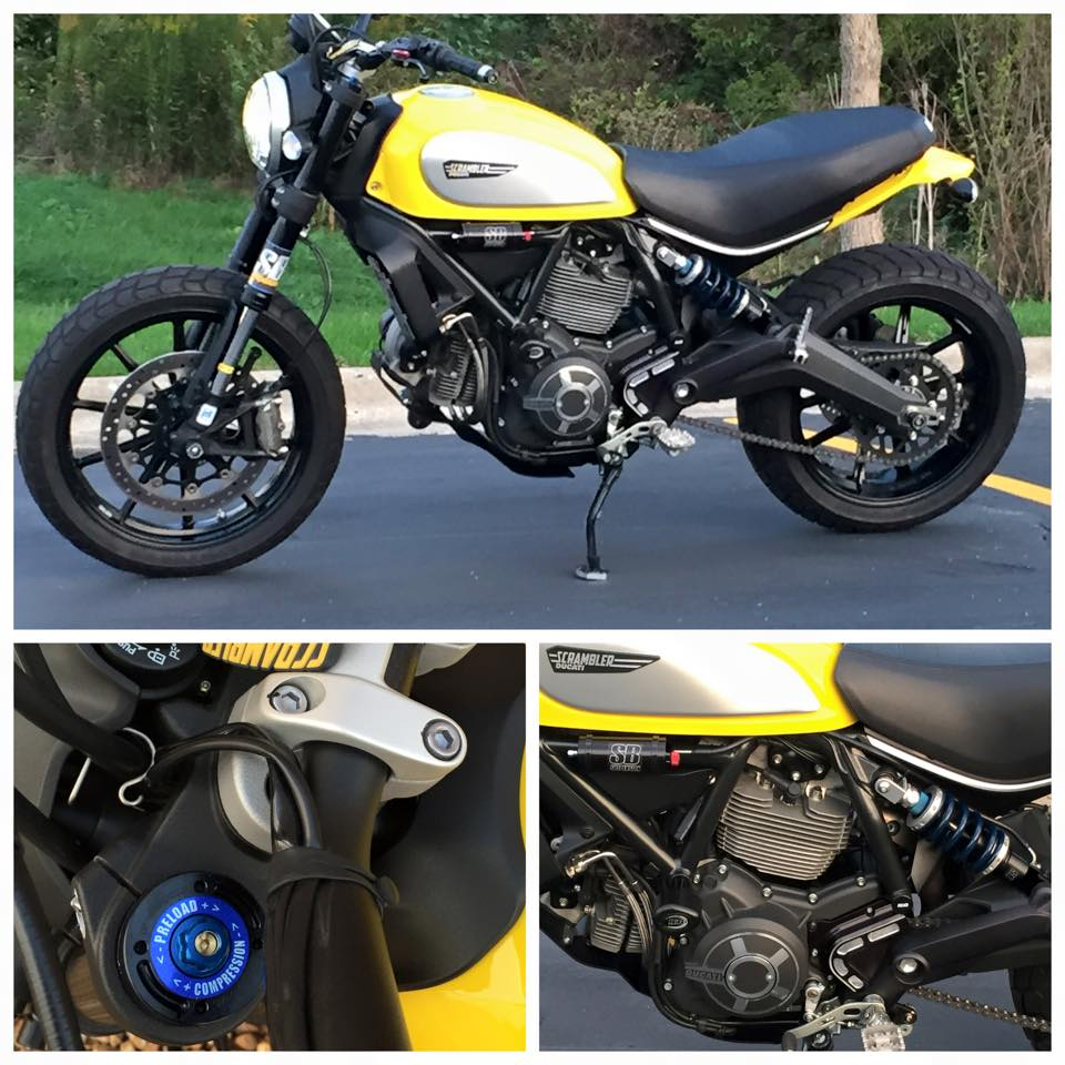 Ducati Scrambler Suspension