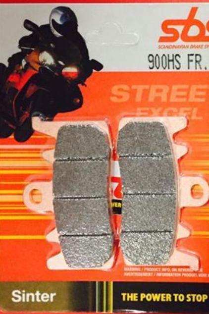 SBS 900HS Brake Pad-Scrambler