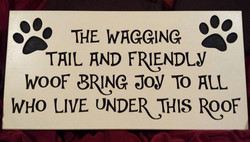 WAGGING TAIL SIGN