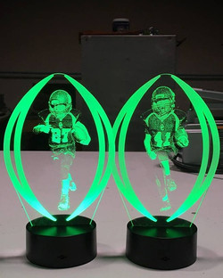 Led football awards