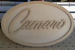 Camaro sign unfinished