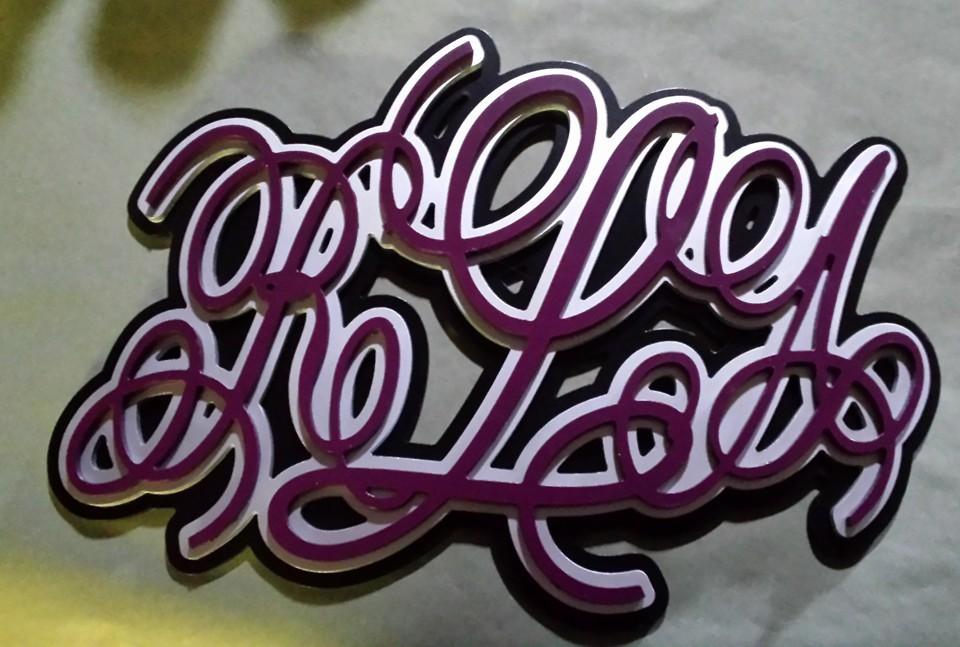 2.5d Letters