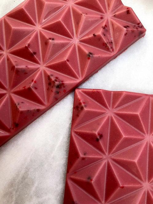 Pink Peppercorn Ruby Chocolate Bar