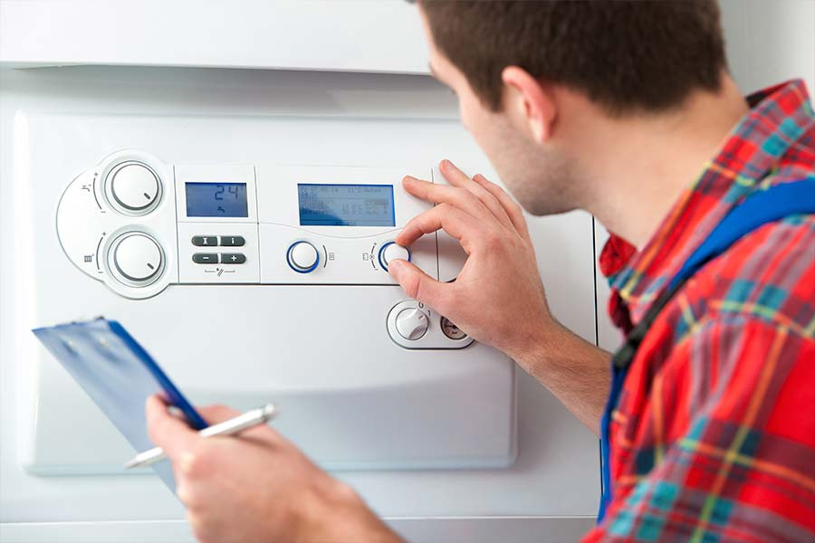 Gas safety check involves checking your boiler, cooker, hob and the gas fire