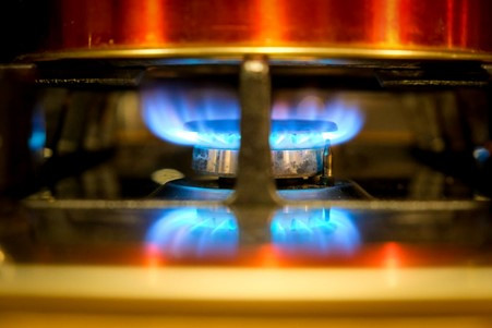 Cooking at the gas hobs is super easy