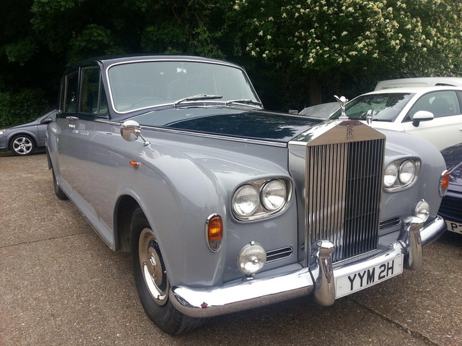 Rolls Royce Prepped in Completed Finish