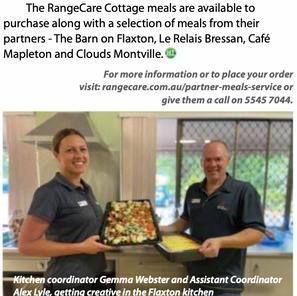 RangeCare's revamped meals