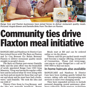 Community ties drive Flaxton Meal initiative