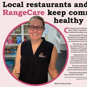Local resturants and RangeCare keep community healthy