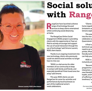 Social solution with RangeCare
