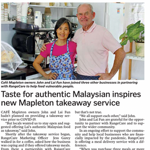 Taste for authentic Malaysian Inspires new Mapleton takeaway service