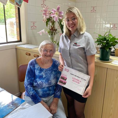 Ludmila turns 90!
