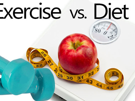 Is Diet Or Exercise More Important?