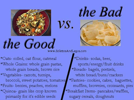 Learn the Difference Between Good and Bad Carbs