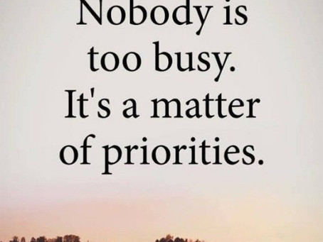 Do You Feel Too Busy to Live a Healthy Lifestyle?