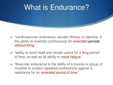 What Is Endurance Fitness?
