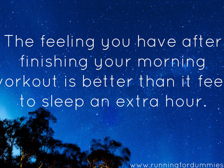 How To Get Up And Workout In The Morning
