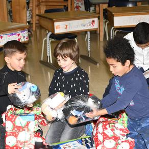 Un joyeux Noël pour les enfants de milieux à faible revenu de Montréal