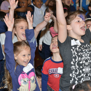 A Magic Easter Party for 700 Children