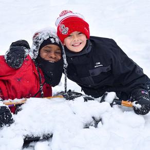 A Wonderful Snow Camp for 80 Underprivileged Children