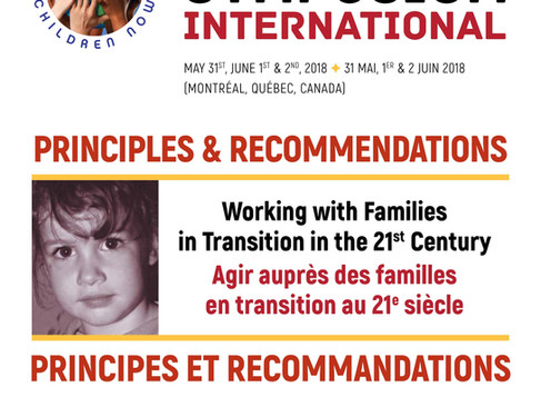 Principles and Recommendations of the 9th International Symposium
