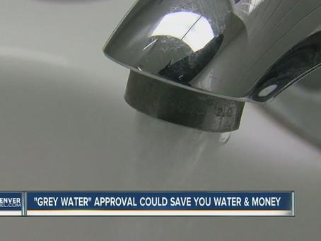 Denver Okays use of greywater...