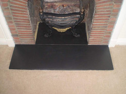 Slate Hearth After.
