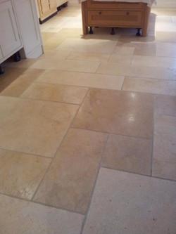 Limestone Kitchen After.