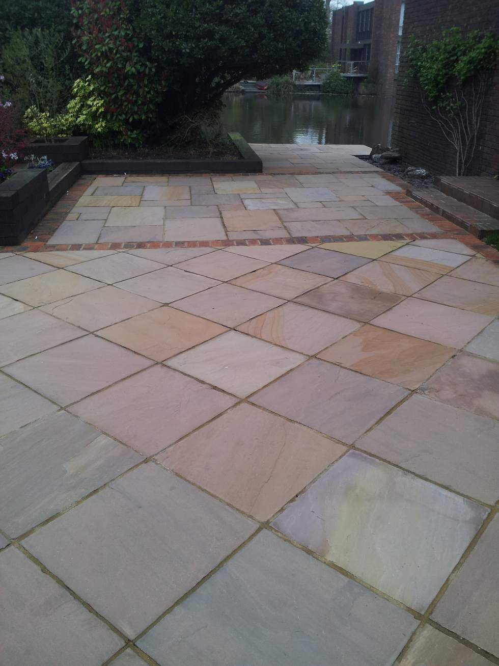 Stone Patio After.