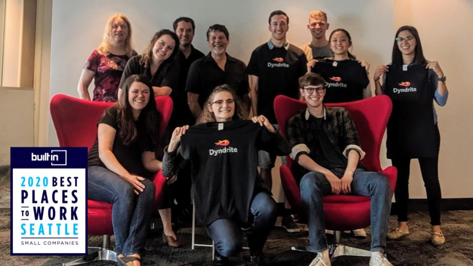 Dyndrite-team-photo-best-small-company-award