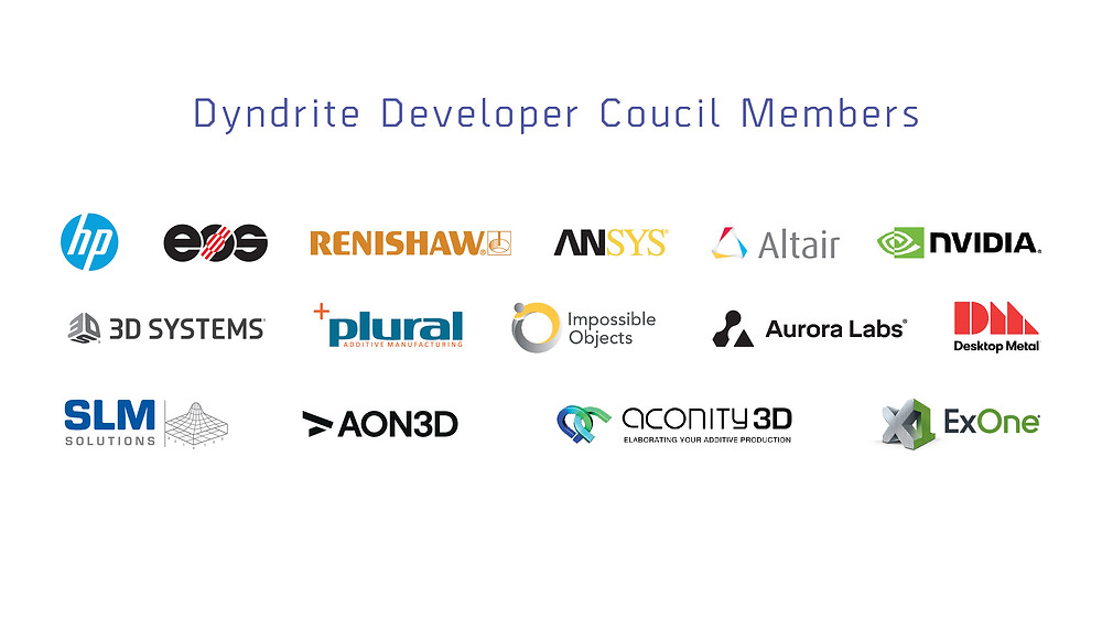In just one year, the Dyndrite Developer Council has grown to 15 industry leaders who aim to steer the future of additive manufacturing. We look forward to where these discussions will lead.