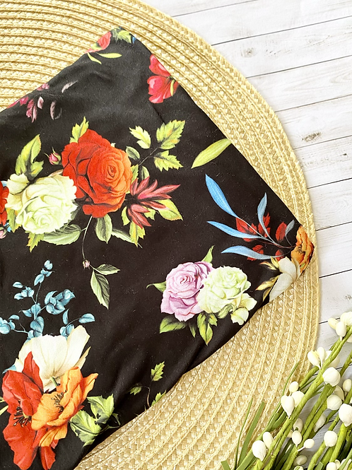 Fall Floral    Carseat Canopy    Nursing Cover