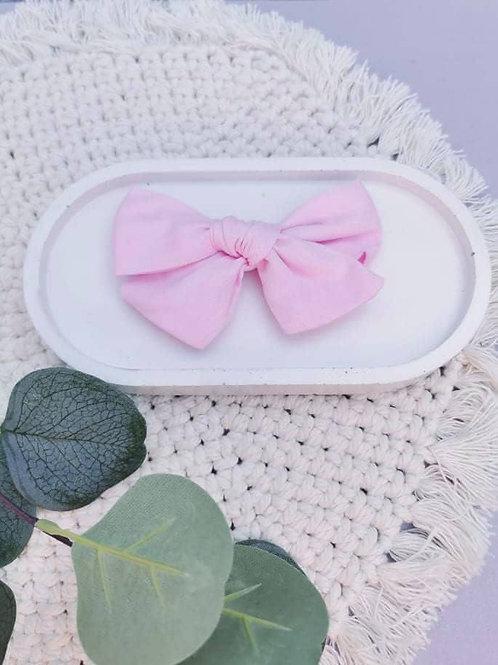 Baby Pink    XL Chloe Bow