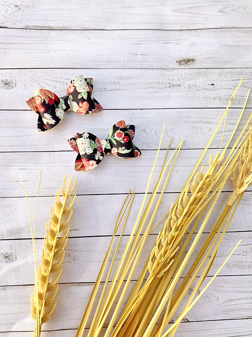 Fall Floral || Mini Piggy Set
