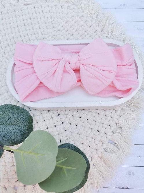 Light Pink || Nylon Head Wrap
