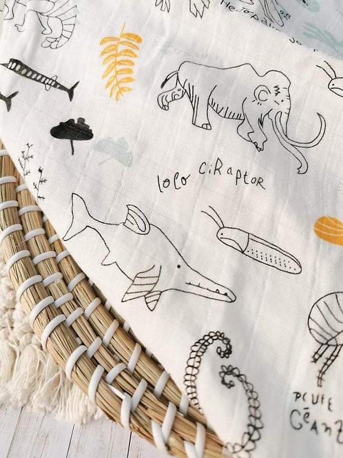 Ice Age    Muslin Blanket