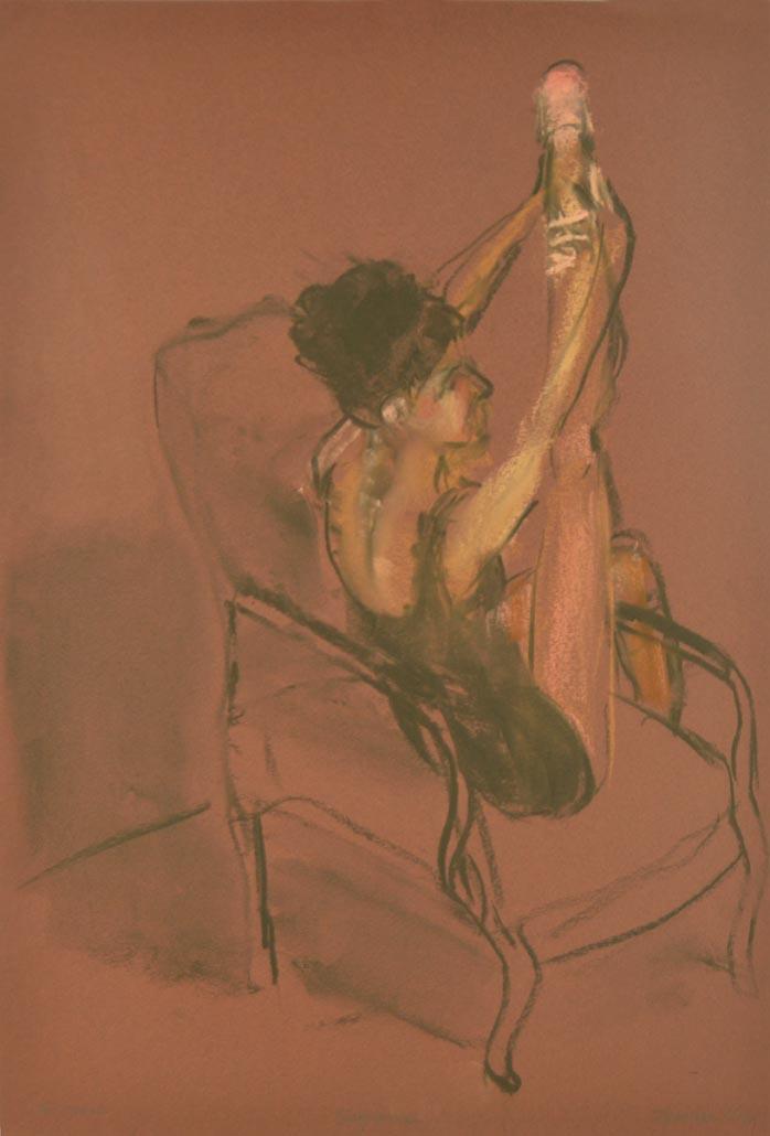 Sofianne stretching