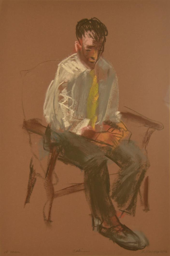Man in Yellow Tie