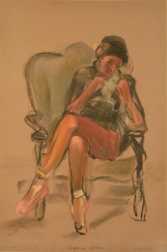 Sofianne seated