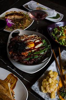Bi Bim Bap Korean Dish at Social House Seven in Downtown Pittsburgh