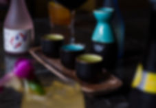 Sake Flight - Downtown Pittsburgh Restaurant