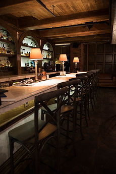 Bar at Penn Society Members Only Club in Downtown Pittsburgh