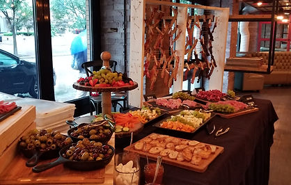 Buffet Catering at Ten Penny in Downtown Pittsburgh