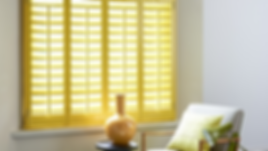 Yellow Wood Shutters Beautiful Blinds
