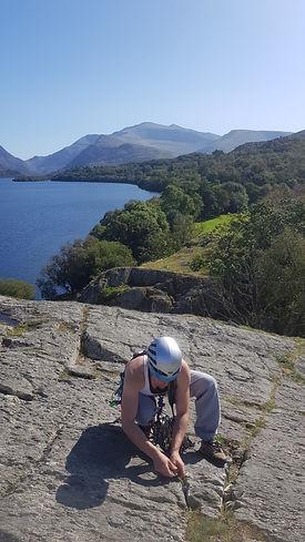 Rock Climbing Instructor Training, Snowdon