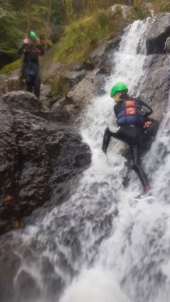 Gorge Walking, North Wales