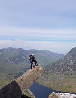 North Ridge of Tryfan, Snowdonia