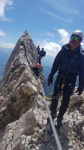 Klettersteig, Tyrol, Austria