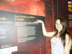Acadie-Québec, CAJ St-Isidore, Musée de la Guerre, Julie Morneau.jpg